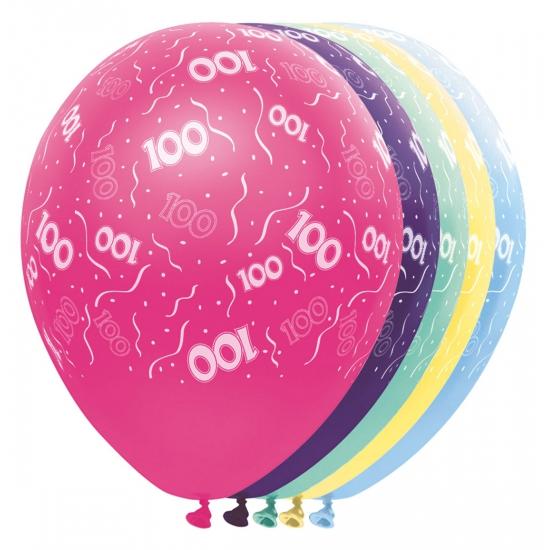 100 jaar versiering helium ballonnen