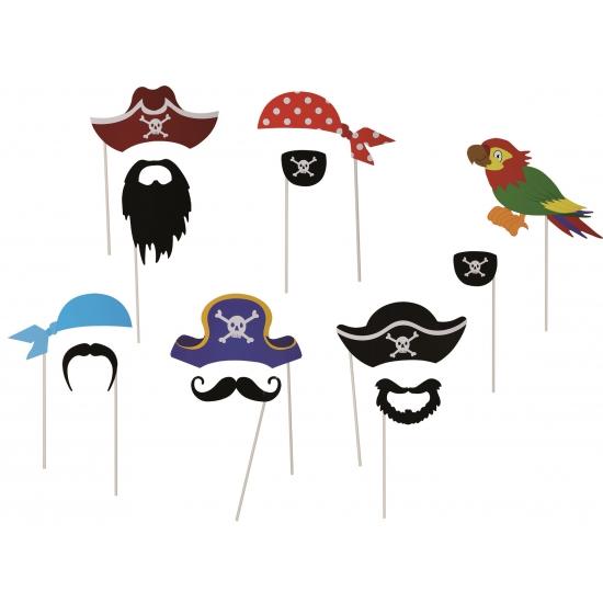 12 photo props piraat