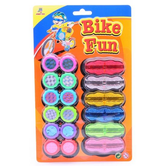 18 spaakreflectoren Bike Fun