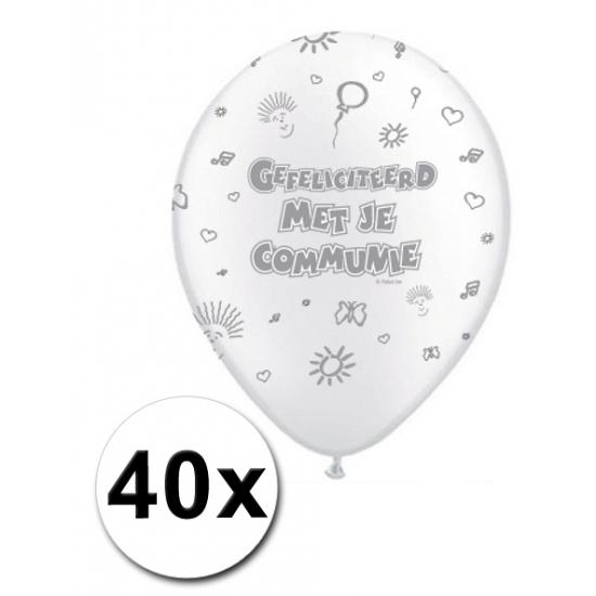 1e communie feest ballonnen actiepakket
