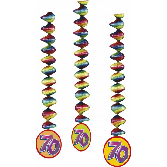 3 stuks rotorspiralen 70 jaar