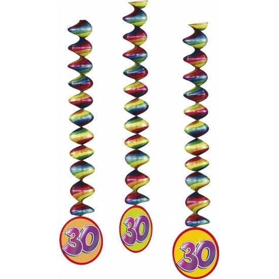 30 jaar decoratie spiralen