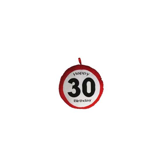30e verjaardag kussen 30 cm
