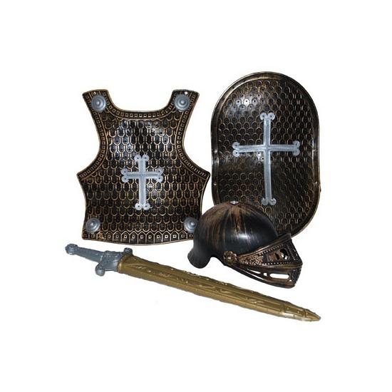 4 delige ridder set brons