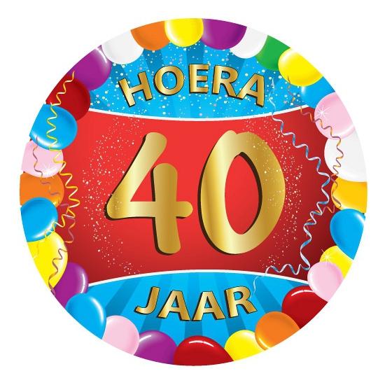 40 jaar feest onderzetters