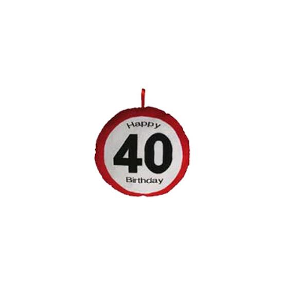 40e verjaardag kussentje