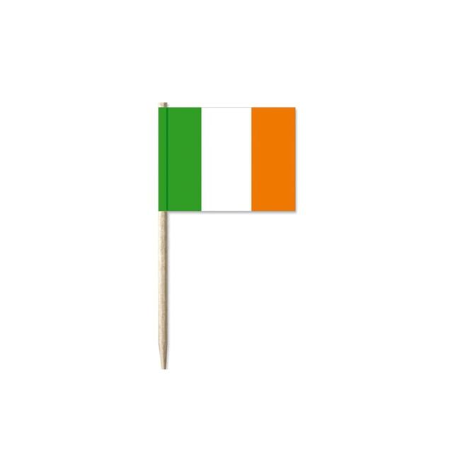 50 stuks cocktailprikkers Ierland