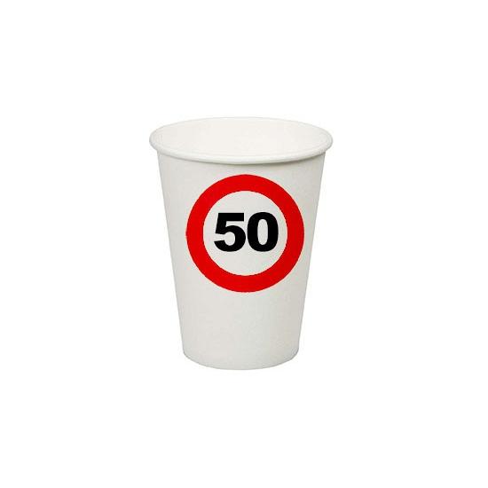 50e verjaardag party bekertjes