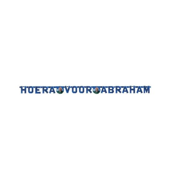 50e verjaardag slinger Abraham