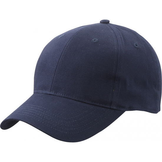 6 paneels baseball cap navy