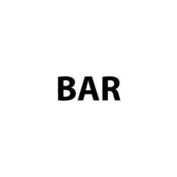 Aanduiding sticker Bar