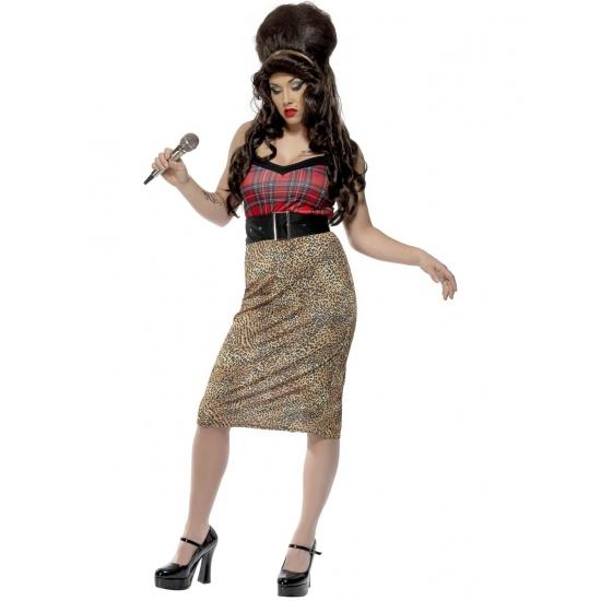 Amy Winehouse carnavalskostuum