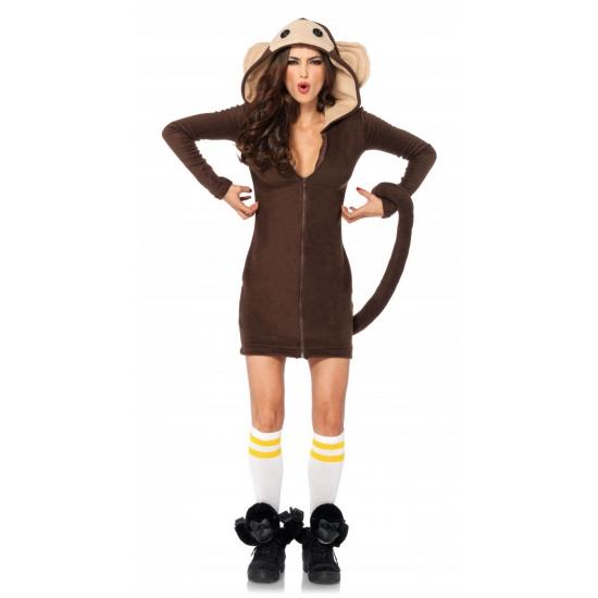Apen kostuum voor dames