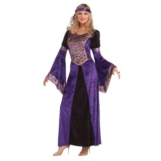 Arabische jurk met gouden details