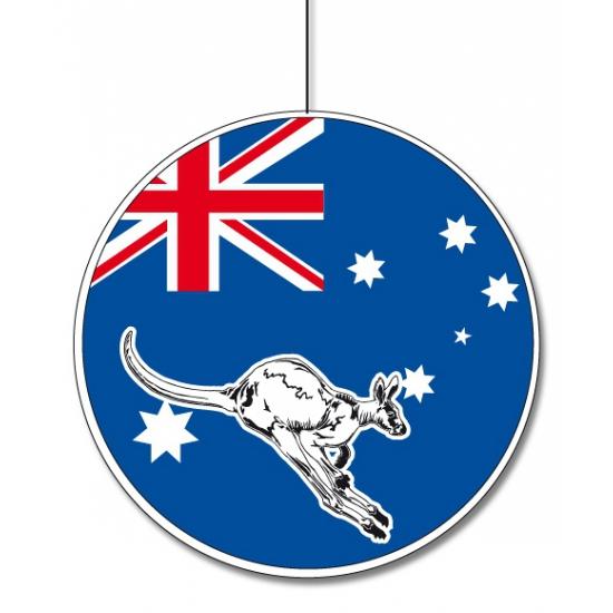 Australie feestversiering hangend 28 cm