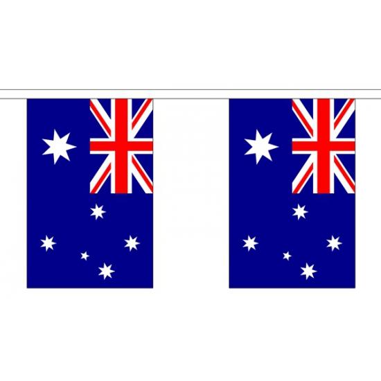 Australie vlaggenlijn van stof 3 m