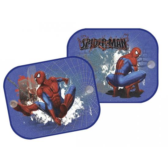 Autoraam schermen Spiderman