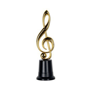 Award goudkleurig