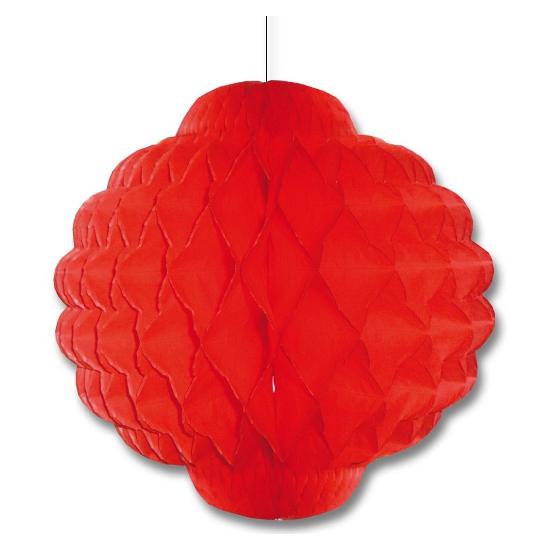 Aziatische rode lampion 30 cm