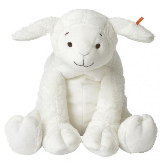 Baby knuffel lammetje 17 cm