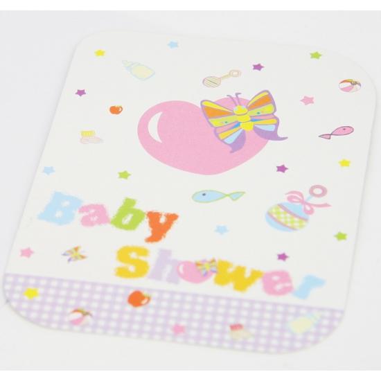 Babyshower kaarten 8 stuks