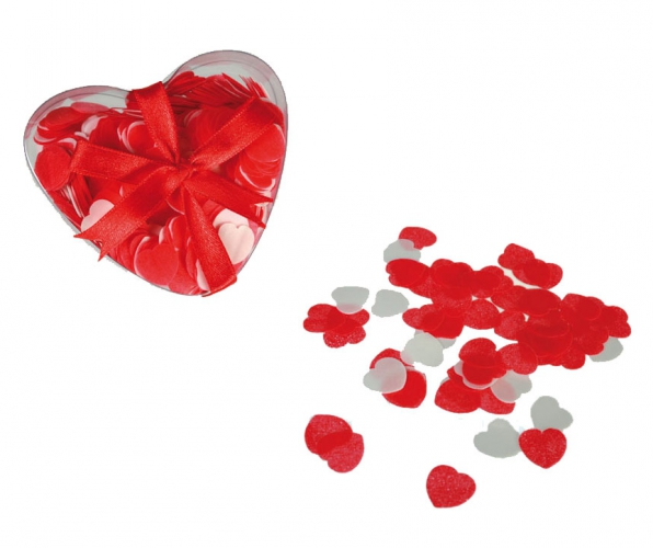 Bad confetti hartjes 20 gram