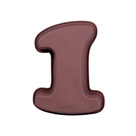 Bakvorm van siliconen materiaal cijfer 1