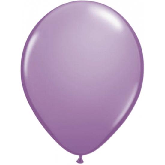 Ballonnen lavendel 50 stuks