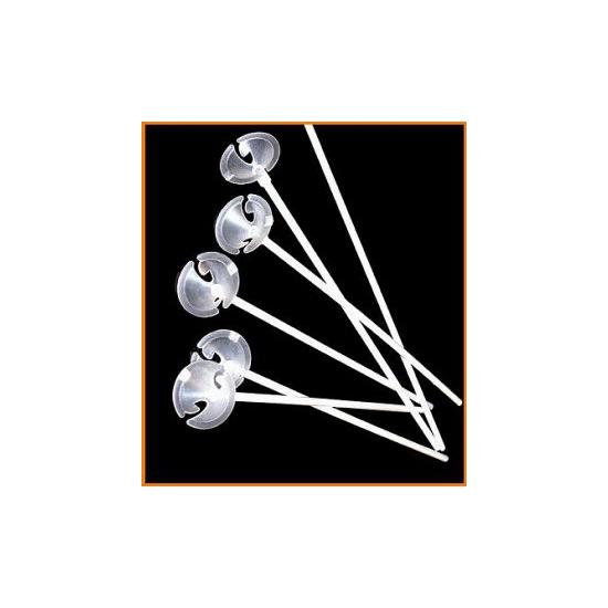 Ballonnen stokjes 100 stuks