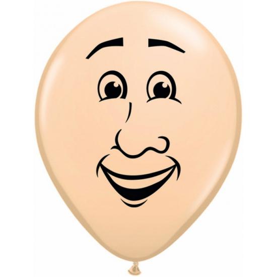 Ballonnetje met mannen gezicht 40 cm