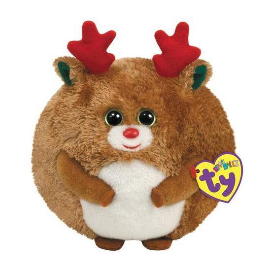 Ballz rendier kerst knuffel 12 cm