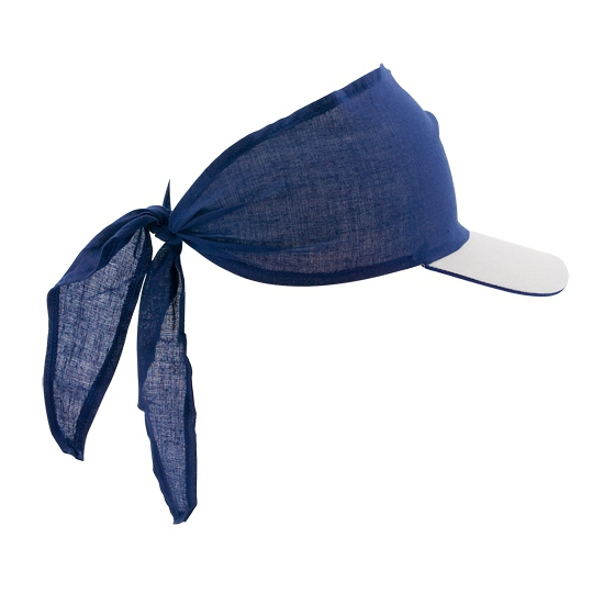 Bandana pet blauw