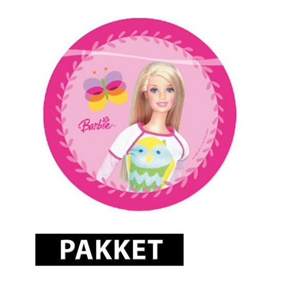 Barbie kinderfeestje pakket