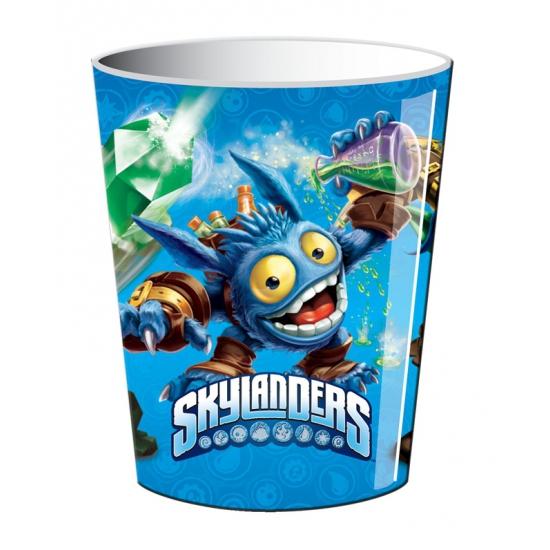 Bekertjes voor kinderverjaardag Skylanders 250 ml