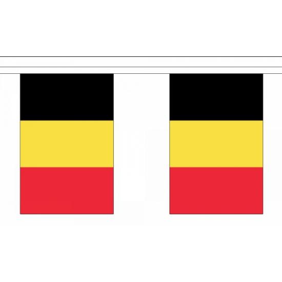 Belgische vlaggenlijn deluxe
