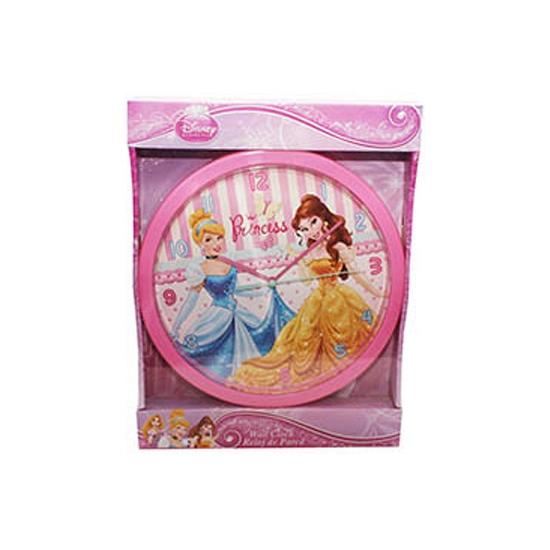 Belle en Assepoester klok 25 cm