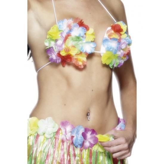 BH met hawaii bloemen
