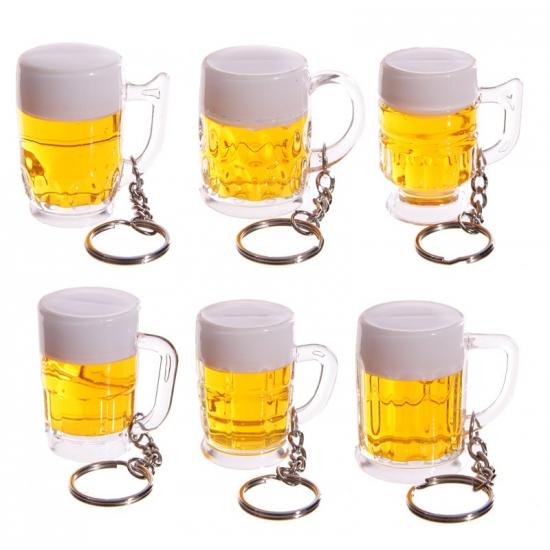 Bierpullen sleutelhanger