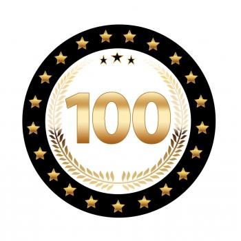 Bierviltjes 100 jarig ivoren jubileum