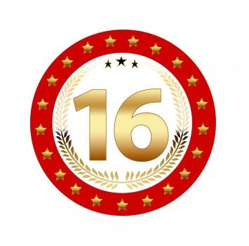 Bierviltjes 16 jaar verjaardag