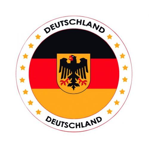 Bierviltjes in Duits thema