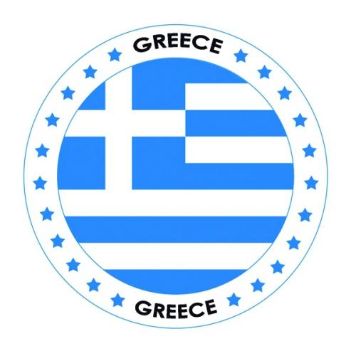 Bierviltjes in Grieks thema