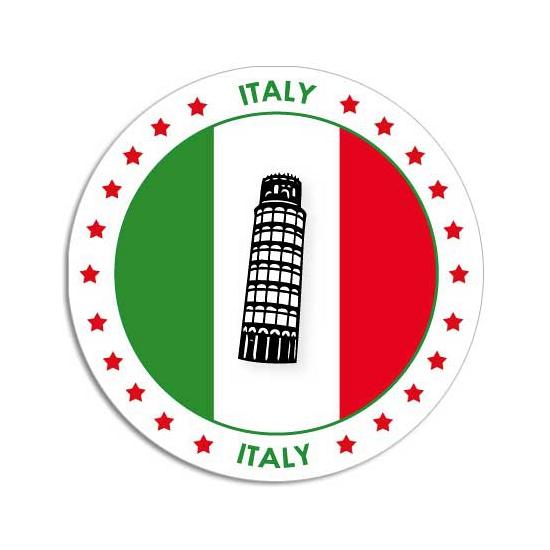 Bierviltjes in Italie thema