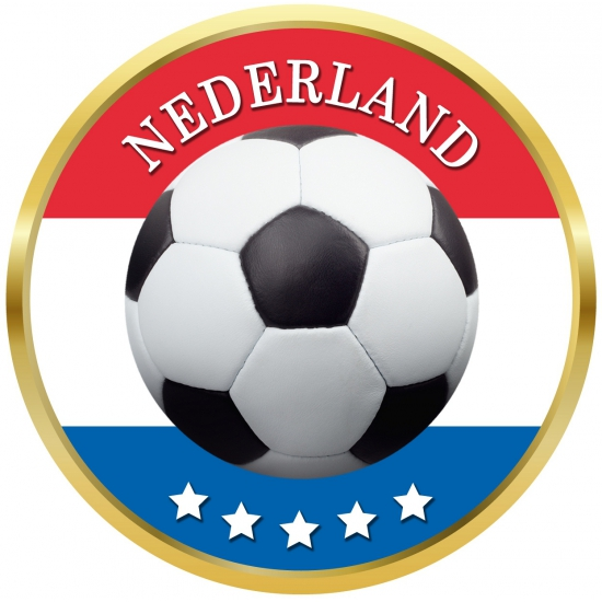 Bierviltjes voetbal in Nederlands thema
