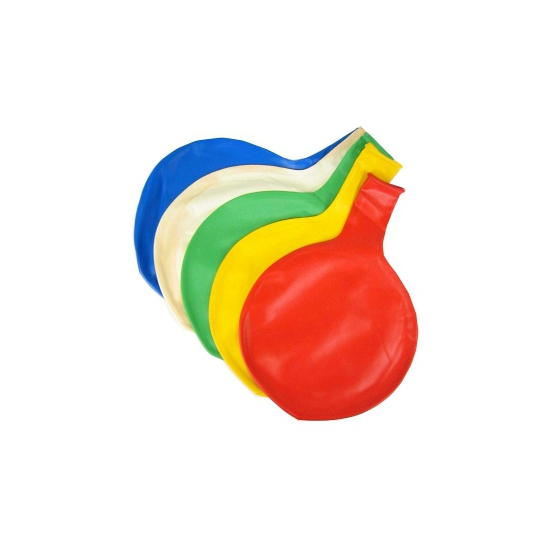 Blauwe mega ballon 65 cm
