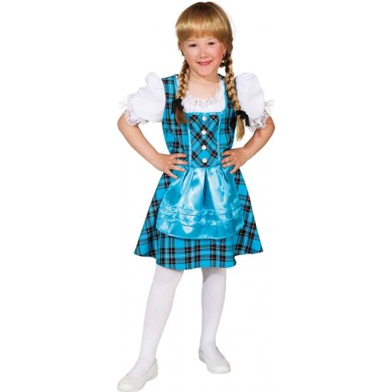 Blauwe Oktoberfest kleding voor kinderen