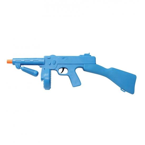 Blauwe Tommy Gun