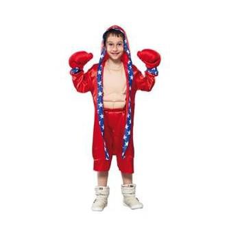 Bokser kostuums voor kinderen rood