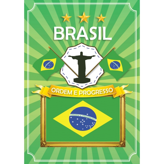 Brazil thema deur posters