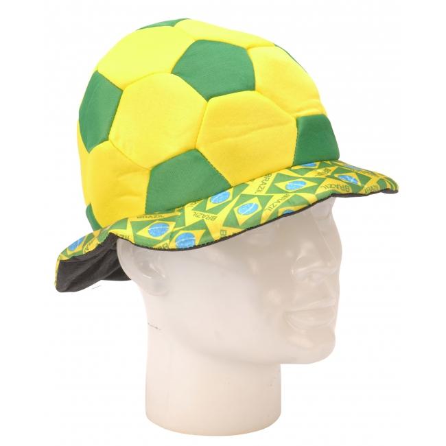 Braziliaanse voetbal hoed